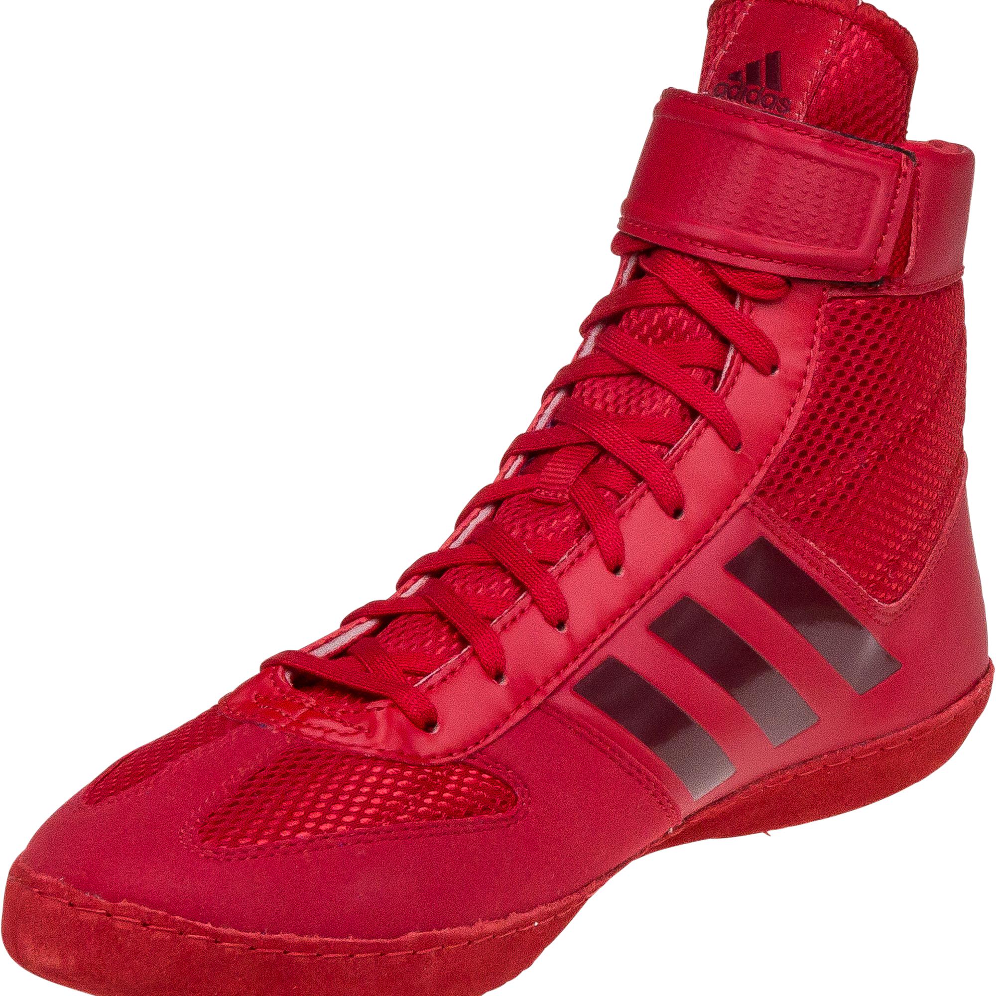 Adidas Combat Speed 5 Red   WrestlingGear