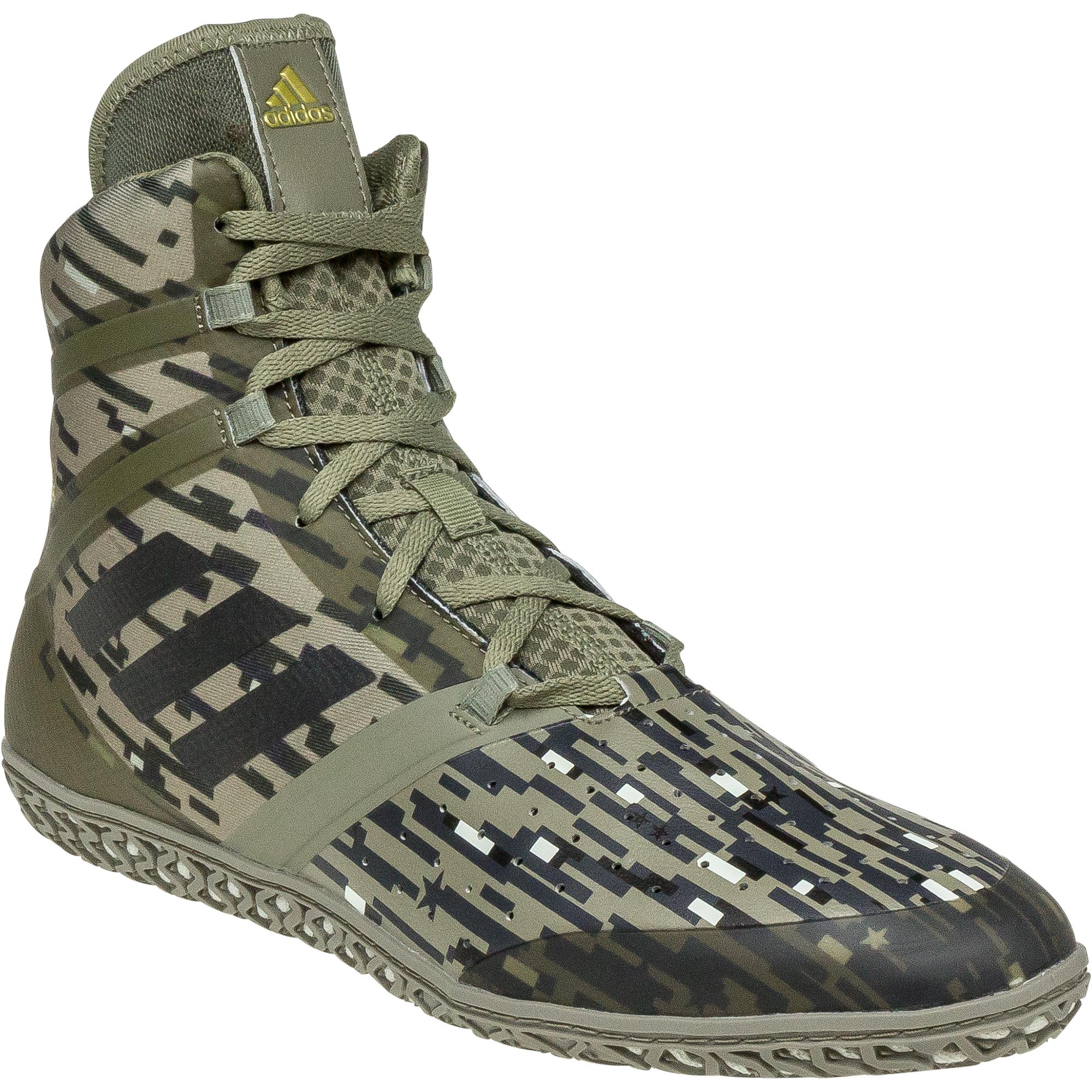 adidas camo wrestling shoes
