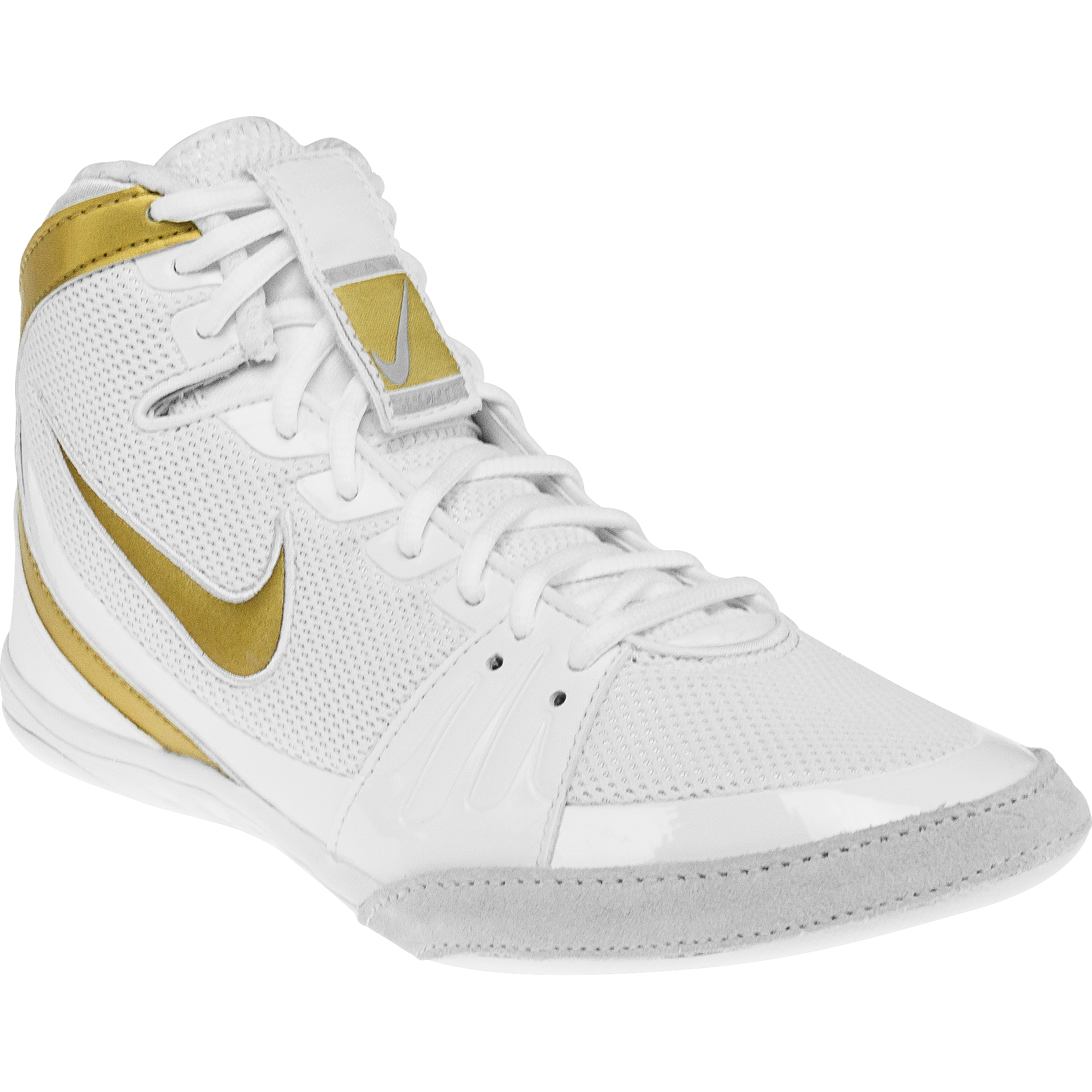 Nike Freek White Gold